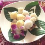 Cambodian dessert - Battambang Lotus Hotel