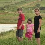 On the farm at the dam
