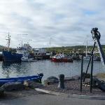 Am Hafen von Portmagee