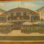 painting of the still original restaurant