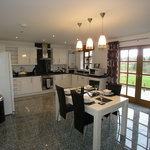 Contemporary Kitchen in Tryfan Cottage