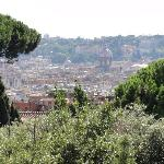 Roofs of Rome - view from suite's terrace