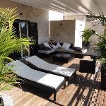 Audrey Suite - Terrace with Jacuzzi