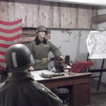 "The Recreated ""Nuts"" Cave Where Gen. McAuliffe Responded to the Nazi Request for Surrender"