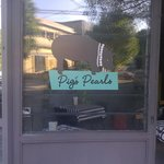 Pig's Pearls sign