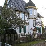 Villa Rossek vom Elisabethen Park