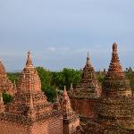 lots of stupas...