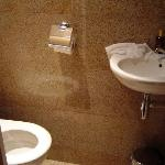 Teenie toilet - although there was a large washroom in the suite, to be fair. But the toilet - a