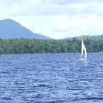 Moosehead Lake as seen from deck of Katahdin