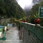 Aguas Calientes - hot springs