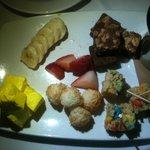Chocolate Fondue dessert