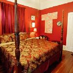 """The """"Red"""" Allen room (King bed)"""