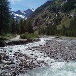 River at Valmontey