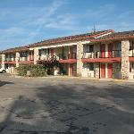 motel rooms building
