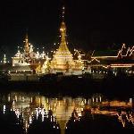 Temple Wat Jhuk khom...