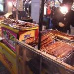 焼肉の串焼きの店