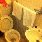 Les toilettes... spacieuses !