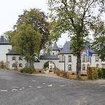 Voorkant van het Chateau.