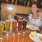 the 6 beer sampler