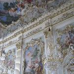 a hall inside Schloss Nymphenburg