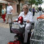 benidorm lady in mallorca