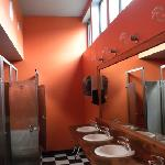 Amazing washrooms at Big Picture Cafe