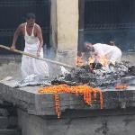 cremation by the river
