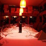 Private Wine Cellar Dinning room(seats 8)