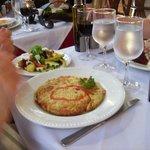 Vegitarian omelette