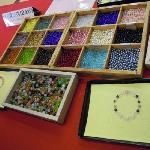 数珠作り体験