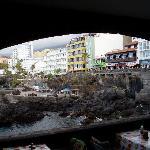 San Telmo desde el restaurante