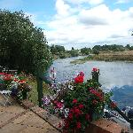 Enjoy our Patio which looks over the River Trent