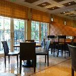 Boutique Restaurant Area and Cozy Swimming Area