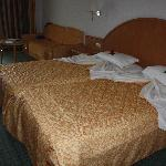 our room on our last day!  :o(