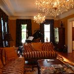 Living Room with Player Piano