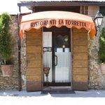 Entrance Ristorante La Torretta