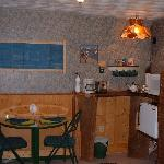The Captains Quarters Kitchenette