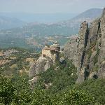 The Monastery of Rousano is perhaps the most difficult to reach.