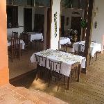 Frühstückraum und Restaurant