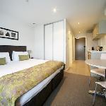 Studio Apartment - Bedroom