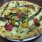 "Pizza ""vegetarienne"""