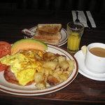 Breakfast plate...