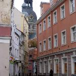 The historic and scenic old section of Riga