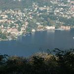 The view of Cernobbio