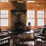Main sitting area in lodge