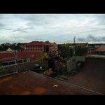 6ft rooftop halfpipe