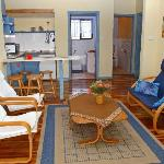 Inside of self-catering unit