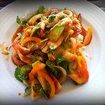 Mixed veggi salad w/ seafood