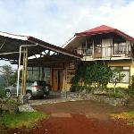 Aussenansicht Guajabo-Lodge