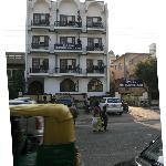 Hotel from the front
